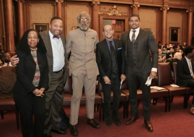Dr. Jeffrey Gardere with Dr. Starr Eaddy, Jesse Hamilton 3rd, Dr. Jeffrey Gardere, Richard Green