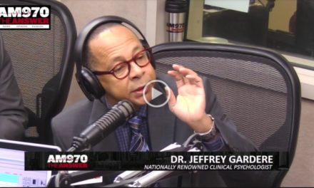 DR. JEFF GARDERE INTERVIEW – PISCOPO IN THE MORNING 10-31