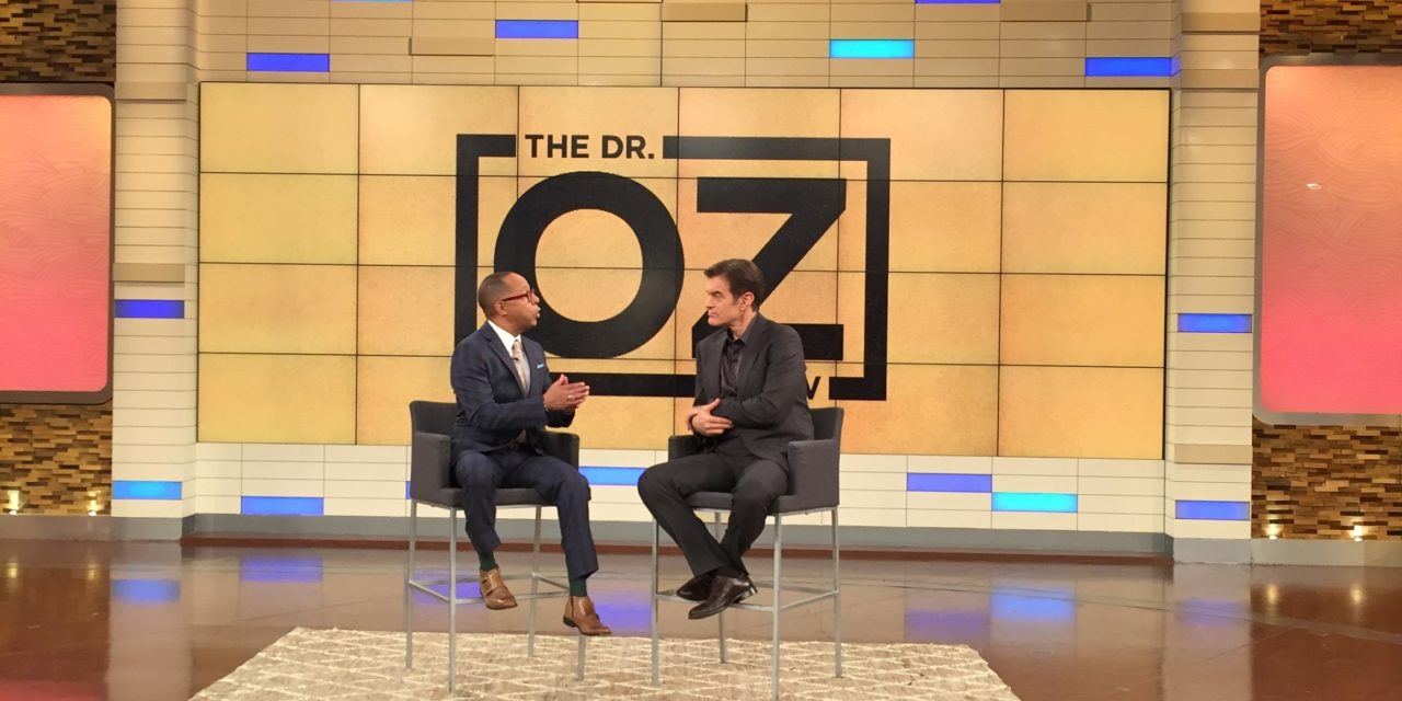 Dr. Jeff on Dr. Oz Show Tues Jan 23rd 2018